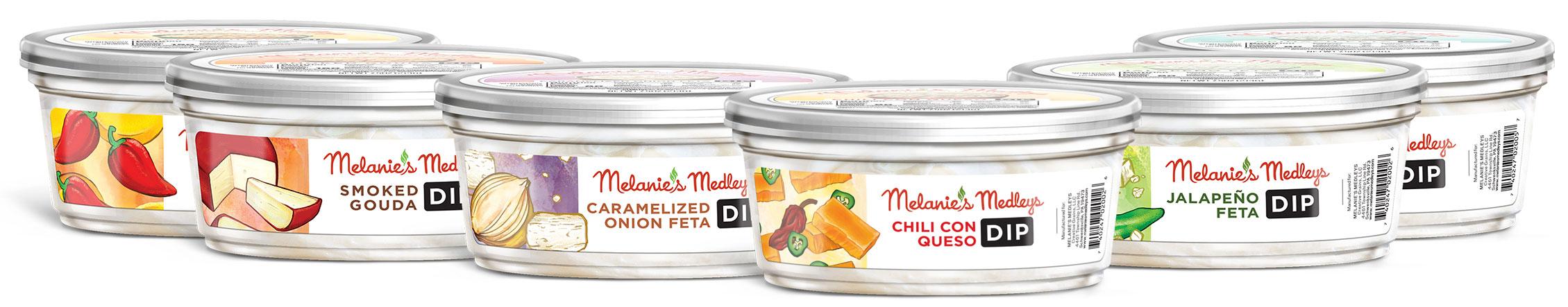 Melanie's Medley Dips